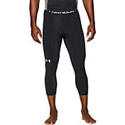 Under Armour Men's HeatGear Armour Three Quarter Length Compression Leggings