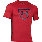 Under Armour Men's Home Plate Baseball Graphic T-Shirt