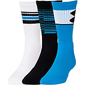 Under Armour Men's Color Crew Sock 3 Pack
