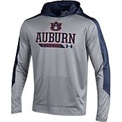 Under Armour Men's Auburn Tigers Grey Foundation Hoodie