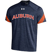 Under Armour Men's Auburn Tigers Blue Microthread T-Shirt