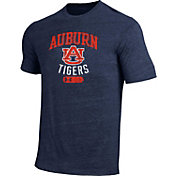Under Armour Men's Auburn Tigers Blue Triblend T-shirt