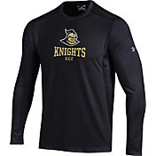 Under Armour Men's UCF Knights Raid Performance Long Sleeve Black T-Shirt