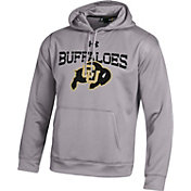 Under Armour Men's Colorado Buffaloes Grey Armour Fleece Hoodie