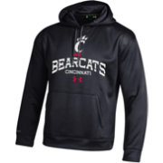 Under Armour Men's Cincinnati Bearcats Armour Fleece Black Hoodie