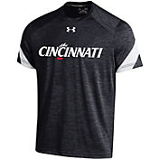 Under Armour Men's Cincinnati Bearcats  Microthread BLack T-Shirt