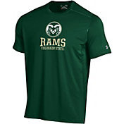 Under Armour Men's Colorado State Buffaloes Raid Performance Green T-Shirt