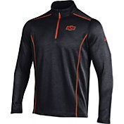 Under Armour Men's Oklahoma State Cowboys Validate Black Quarter-Zip Shirt