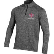 Under Armour Men's Louisiana- Lafayette Rajin' Cajuns Heathered Grey Quarter-Zip Performance Pullover Shirt