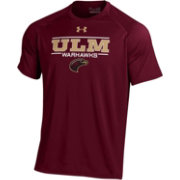 Under Armour Men's Louisiana-Monroe Warhawks Maroon Tech Performance T-Shirt