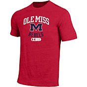 Under Armour Men's Ole Miss Rebels Red Tri-Blend T-Shirt
