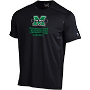Under Armour Men's Marshall Thundering Herd Raid Performance Black T-Shirt