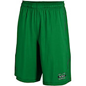 Under Armour Men's Marshall Thundering Herd Green Raid Shorts
