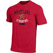 Under Armour Men's Maryland Terrapins Red Triblend T-shirt