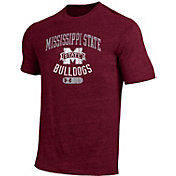 Under Armour Men's Mississippi State Maroon Triblend T-shirt