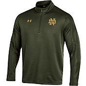 Under Armour Men's Notre Dame Fighting Irish Green Shamrock Series Quarter-Zip