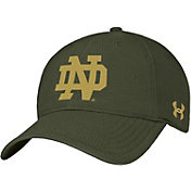 Under Armour Men's Notre Dame Fighting Irish Green Renegade Flex-Fitted Hat