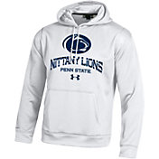 Under Armour Men's Penn State Nittany Lions Armour Fleece White Hoodie