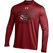 Under Armour Men's South Carolina Gamecocks Garnet Long Sleeve Tech T-Shirt