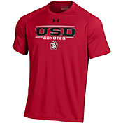 Under Armour Men's South Dakota Coyotes Red Tech Performance T-Shirt