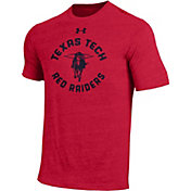 Under Armour Men's Texas Tech Red Raiders Red Triblend T-shirt