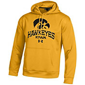Under Armour Men's Iowa Hawkeyes Armour Fleece Gold Hoodie
