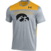 Under Armour Men's Iowa Hawkeyes Grey/Gold Foundation UA Tech T-Shirt