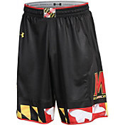 Under Armour Men's Maryland Terrapins Black Replica Basketball Shorts