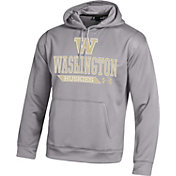 Under Armour Men's Washington Huskies Grey Armour Fleece Hoodie