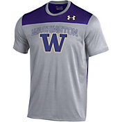 Under Armour Men's Washington Huskies Grey/Purple Foundation UA Tech T-Shirt