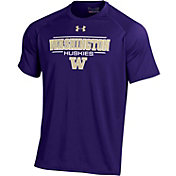 Under Armour Men's Washington Huskies Purple Tech Performance T-Shirt