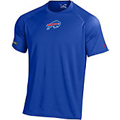 Under Armour NFL Combine Authentic Men's Buffalo Bills Logo Tech Blue Performance T-Shirt