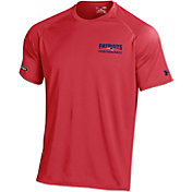 Under Armour NFL Combine Authentic Men's New England Patriots Wordmark Tech Red Performance T-Shirt