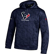 Under Armour NFL Combine Authentic Men's Houston Texans Armour Fleece Novelty Navy Hoodie
