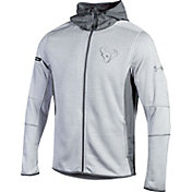 Under Armour NFL Combine Authentic Men's Houston Texans Pinnacle Grey UA Storm Swacket