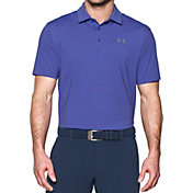Under Armour Men's Playoff Stripe Golf Polo – Tall