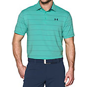 Under Armour Men's Playoff Wedge Stripe Golf Polo – Tall