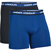 Under Armour Men's Performance Mesh 6'' Boxerjock Boxer Briefs 2 Pack
