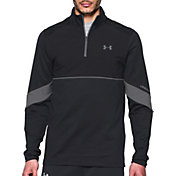 Under Armour Men's Storm Pitch Quarter Zip Long Sleeve Soccer Shirt