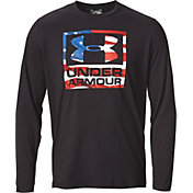 Under Armour Men's Big Flag Logo Long Sleeve Shirt