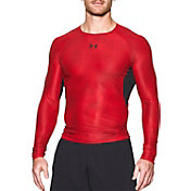 Under Armour Men's HeatGear Armour Printed Long Sleeve Shirt