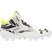 Under Armour Men's Ripshot Mid MC Lacrosse Cleats
