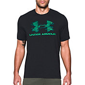 Under Armour Men's Sportstyle Blow Out Logo T-Shirt