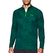 Under Armour Men's Tech Jacquard Quarter Zip Long Sleeve Shirt