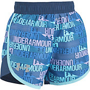 Under Armour Toddler Girls' Wordmark Fast Lane Shorts