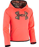 Under Armour Toddler Girls' Realtree Big Logo Hoodie