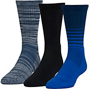 Under Armour Phenom Twisted Crew Socks 3 Pack