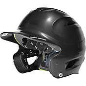 Under Armour OSFM Solid Molded Batting Helmet w/ Wrapped Earpieces