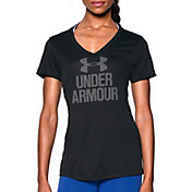 Under Armour Women's Graphic Tech V-Neck T-Shirt