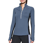 Under Armour Women's ColdGear Basic Half Zip Long Sleeve Shirt